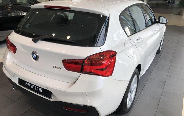 Cần bán xe BMW 1 Series 118i năm sản xuất 2018, màu trắng, xe nhập2