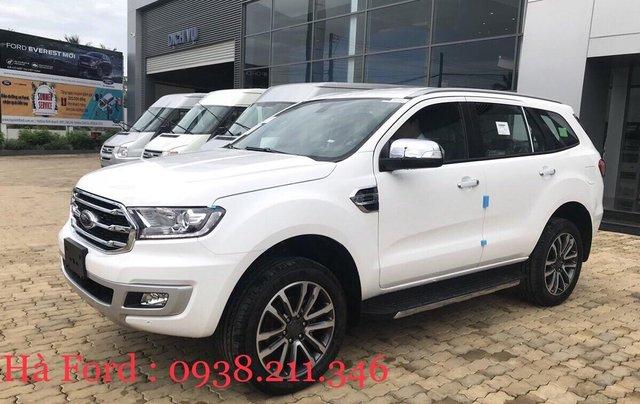 Bán Ford Everest 2019, giá cạnh tranh kèm thêm gói khuyến mãi ưu đãi0