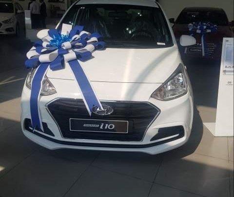 Bán ô tô Hyundai Grand i10 đời 2019, màu trắng0