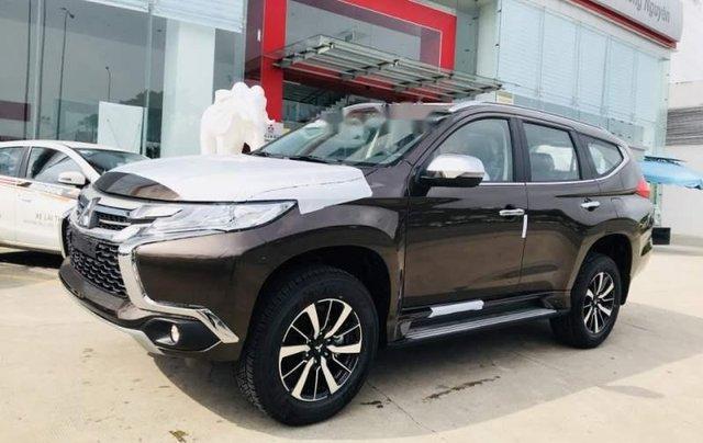 Bán Mitsubishi Pajero đời 2018, màu nâu, nhập khẩu Thái0