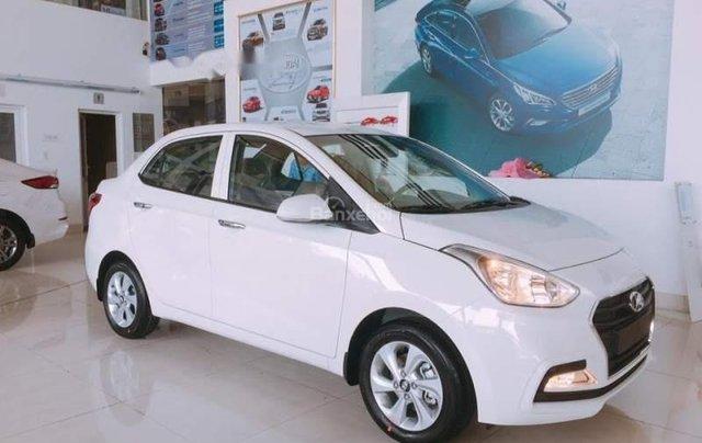 Bán xe Hyundai Grand i10 1.2 AT 2019, màu trắng, nhập khẩu 0
