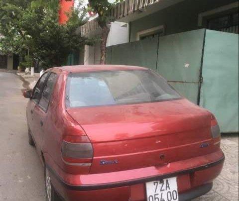 Cần bán lại xe Fiat Siena đời 2001, màu đỏ, giá 95tr1