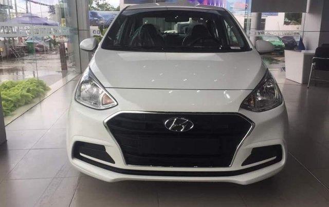 Bán xe Hyundai Grand i10 sản xuất năm 2019, màu trắng0