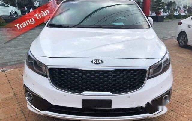 Bán ô tô Kia Sedona năm 2018, màu trắng0