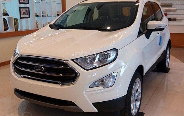 Bán Ford EcoSport 1.5 Titanium sản xuất 2019, giá 585tr tặng 20tr phụ kiện, trả góp 80%, LH 09742860090