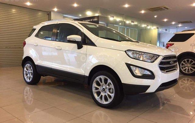 Bán Ford EcoSport 1.5 Titanium sản xuất 2019, giá 585tr tặng 20tr phụ kiện, trả góp 80%, LH 09742860091