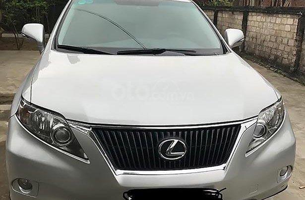 Cần bán Lexus RX 350 sản xuất năm 2009, màu bạc, xe nhập còn mới0