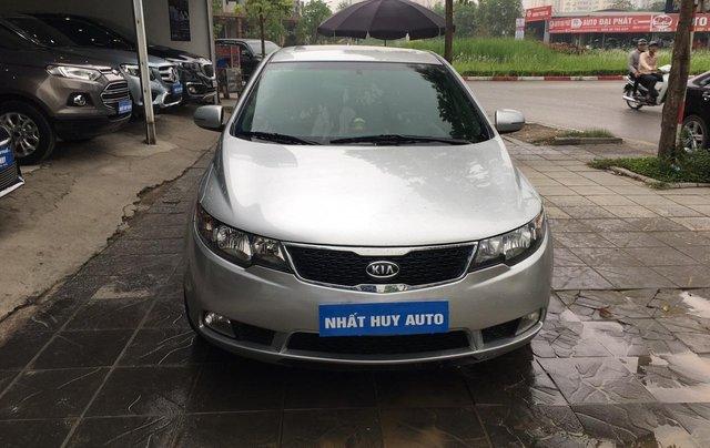 Bán Kia Cerato 1.6AT sản xuất 2011, màu bạc, nhập khẩu nguyên chiếc, giá chỉ 405 triệu1