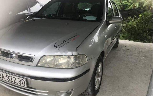 Bán Fiat Albea 1.3 năm sản xuất 2004, màu bạc xe gia đình 0