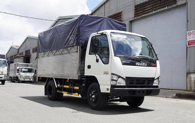 Bán Isuzu 1T4-1T9-2T5, thùng mui bạt 3m6 có sẵn, hỗ trợ trả góp0