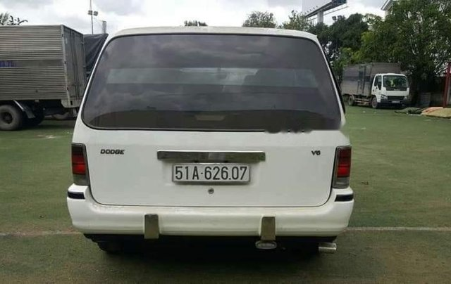 Cần bán lại xe Dodge Caravan đời 1993, màu trắng, nhập khẩu nguyên chiếc, giá tốt5