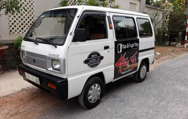 Bán Suzuki Super Carry Van đời 2001, màu trắng, nhập khẩu nguyên chiếc0