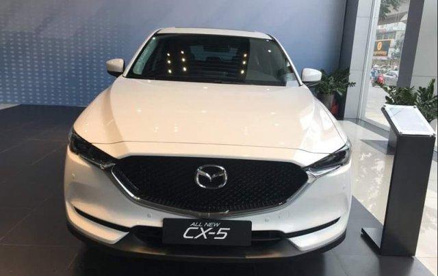 Bán xe Mazda CX 5 2.0 FWD đời 2019, màu trắng giá cạnh tranh0