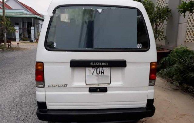 Bán Suzuki Super Carry Van đời 2001, màu trắng, nhập khẩu nguyên chiếc3