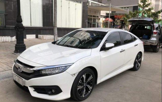 Bán ô tô Honda Civic Turbo 1.5G năm 2018, màu trắng, xe nhập chính chủ2