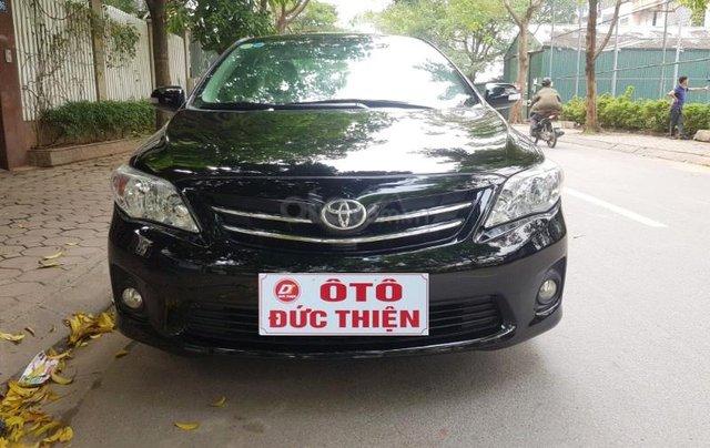 Bán Toyota Corolla Altis 1.8G đời 2013, màu đen0