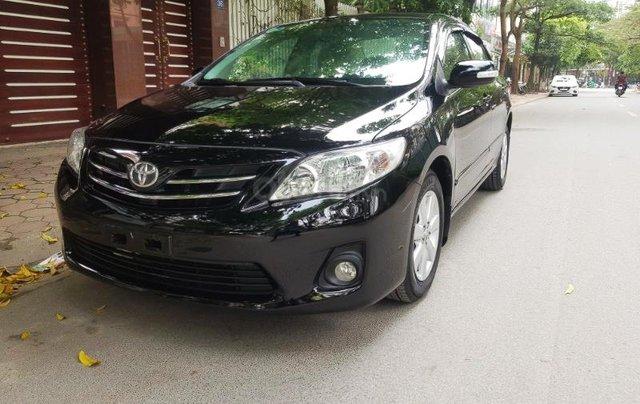Bán Toyota Corolla Altis 1.8G đời 2013, màu đen2