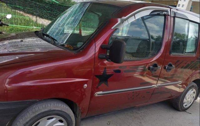 Cần bán lại xe cũ Fiat Doblo đời 2004, màu đỏ0