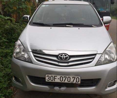 Bán Toyota Innova G 2011, màu bạc, giá 395tr0