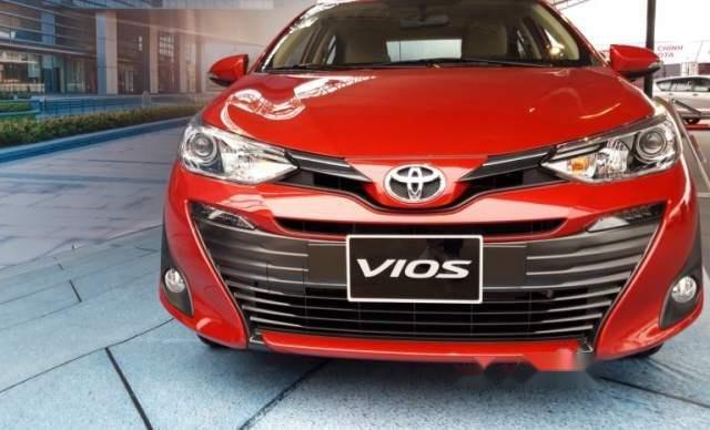 Bán ô tô Toyota Vios 2019, màu đỏ, giá tốt1