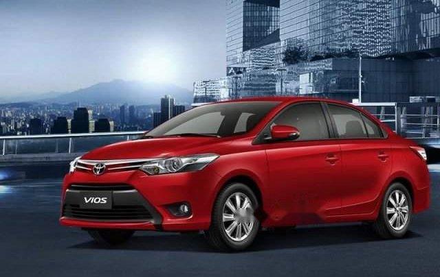 Bán ô tô Toyota Vios 2019, màu đỏ, giá tốt2