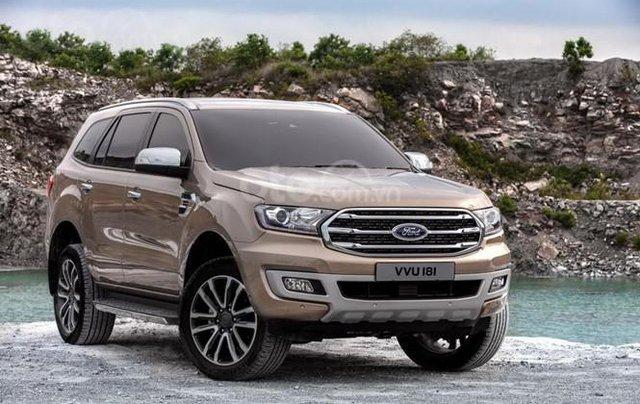 Ford Everest Titanium 2019, trả góp 90%, chỉ cần 200tr nhận xe ngay, giảm gần 60tr tiền mặt, Lh 0911 777 8661