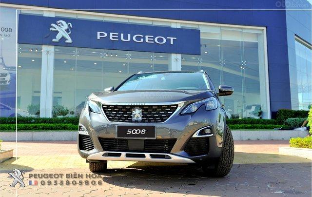 Mua xe  Peugeot 5008 năm 2019, màu xám - Giá tốt - Hỗ trợ mua xe lãi suất thấp - Giao xe tận nhà0