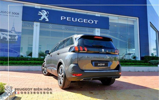Mua xe  Peugeot 5008 năm 2019, màu xám - Giá tốt - Hỗ trợ mua xe lãi suất thấp - Giao xe tận nhà2