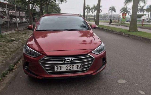 Cần bán lại xe Hyundai Elantra năm sản xuất 2016, màu đỏ, nhập khẩu nguyên chiếc còn mới0