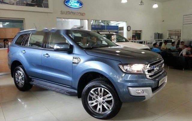 Bán Ford Everest sản xuất năm 2019, màu xanh lam, nhập khẩu1