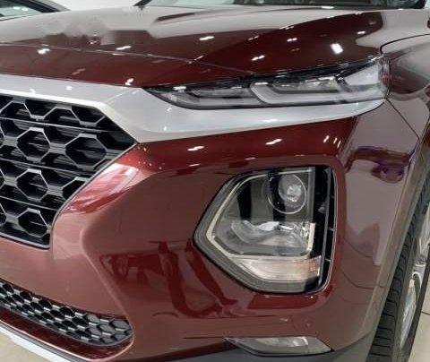 Bán xe Hyundai Santa Fe sản xuất 2019, màu đỏ3