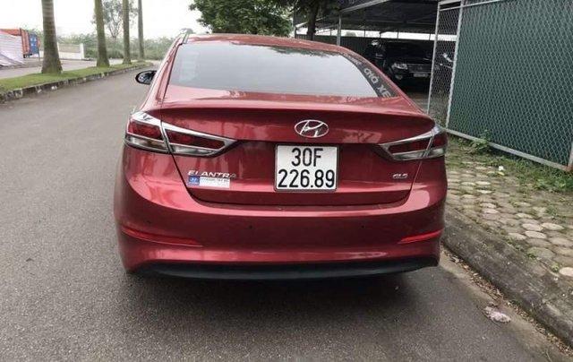 Cần bán lại xe Hyundai Elantra năm sản xuất 2016, màu đỏ, nhập khẩu nguyên chiếc còn mới1