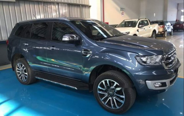 Bán Ford Everest sản xuất năm 2019, màu xanh lam, nhập khẩu3