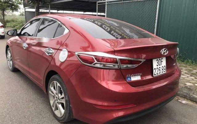 Cần bán lại xe Hyundai Elantra năm sản xuất 2016, màu đỏ, nhập khẩu nguyên chiếc còn mới2