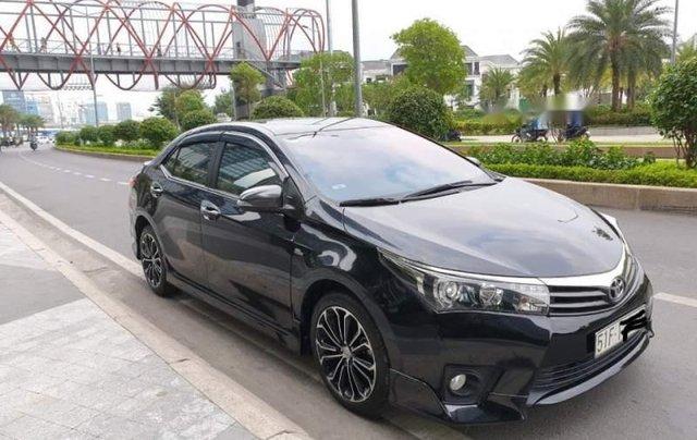 Bán xe cũ Toyota Corolla altis 2.0V đời 2015, màu đen0