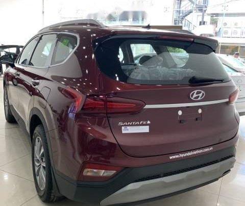 Bán xe Hyundai Santa Fe sản xuất 2019, màu đỏ5