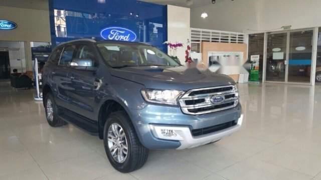 Bán Ford Everest sản xuất năm 2019, màu xanh lam, nhập khẩu2