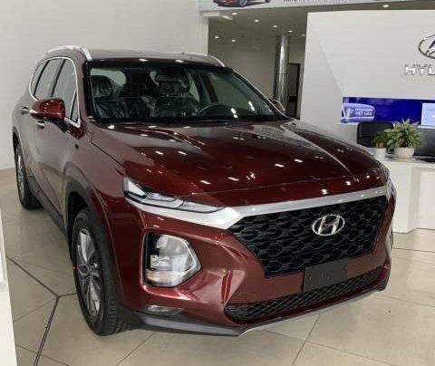 Bán xe Hyundai Santa Fe sản xuất 2019, màu đỏ0