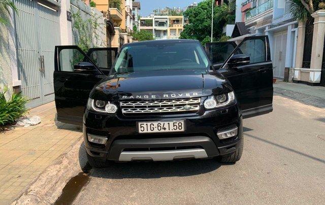 Chính chủ cần bán xe LandRover Range Rover Sport HSE 7 chỗ- đời 2018, SX 2017, màu đen, bảo hành, bảo dưỡng, bảo hiểm1