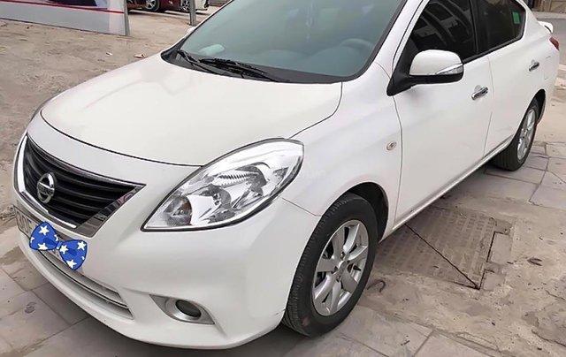 Bán Nissan Sunny XV (tự động) sản xuất cuối 2016, màu trắng, xe mới đi 3,8 vạn km0