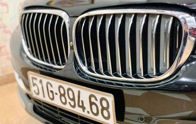 Bán ô tô BMW 7 Series 740 Li model 2016, màu đen, nội thất kem3