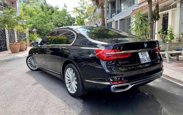 Bán ô tô BMW 7 Series 740 Li model 2016, màu đen, nội thất kem6
