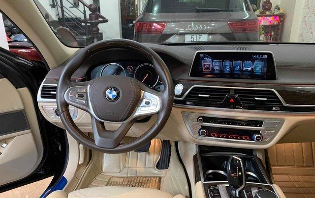 Bán ô tô BMW 7 Series 740 Li model 2016, màu đen, nội thất kem7