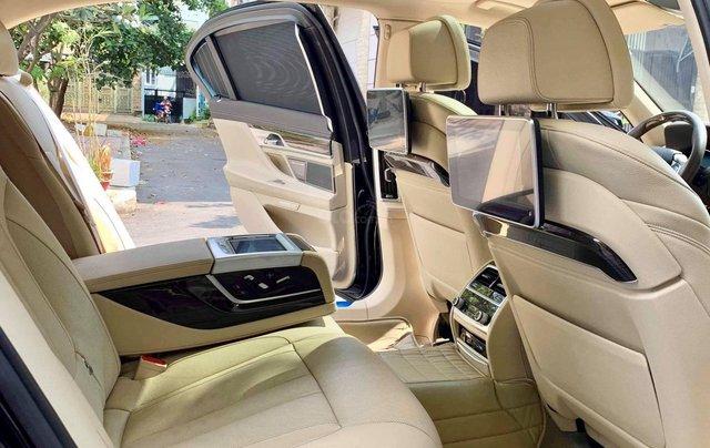 Bán ô tô BMW 7 Series 740 Li model 2016, màu đen, nội thất kem17