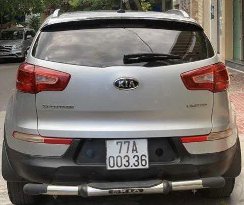 Bán Kia Sportage năm 2011, màu bạc, xe nhập, 600tr5