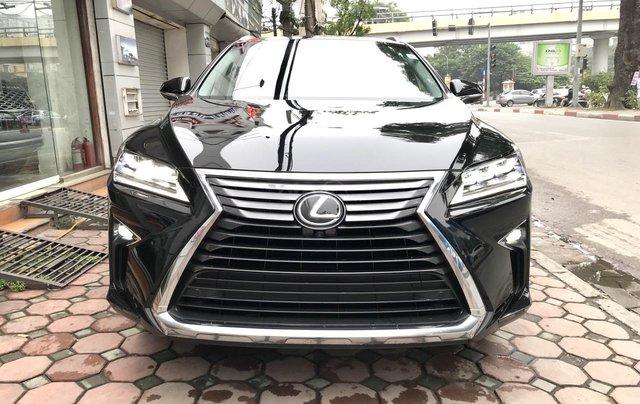 Bán Lexus RX R350L 2018, màu đen, 6 chỗ và 7 chỗ, nhập khẩu Mỹ - Mr Huân 0981.0101.610