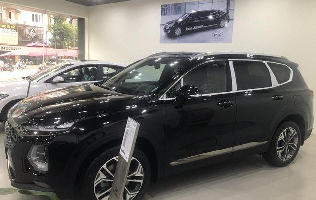 Hyundai Santa Fe 2019 bản Premium máy dầu - xe giao ngay - nhiều ưu đãi - 09199299231