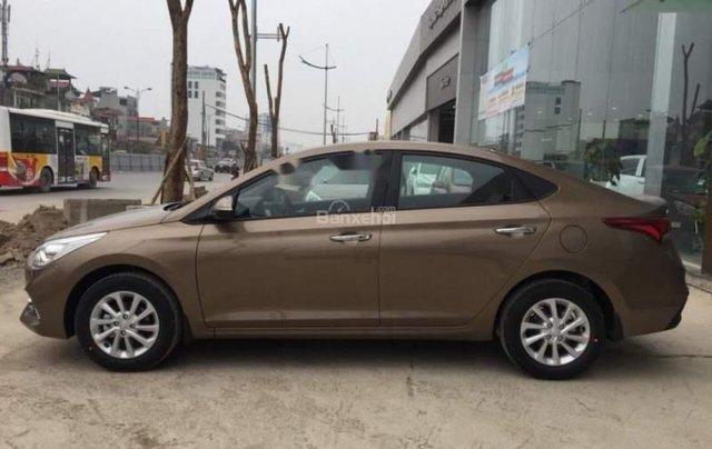 Bán Hyundai Accent năm 2019, màu nâu2