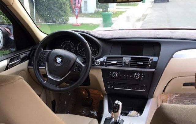 Bán BMW X3 2.8i 2013, màu đỏ, xe nhập1
