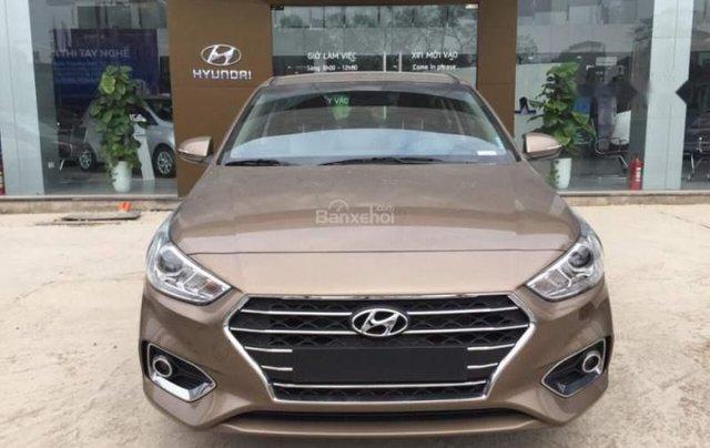 Bán Hyundai Accent năm 2019, màu nâu0